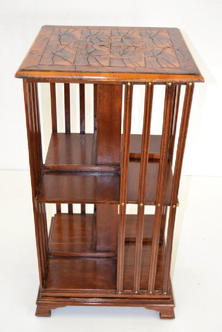 English 19th Century Revolving Bookcase - 3