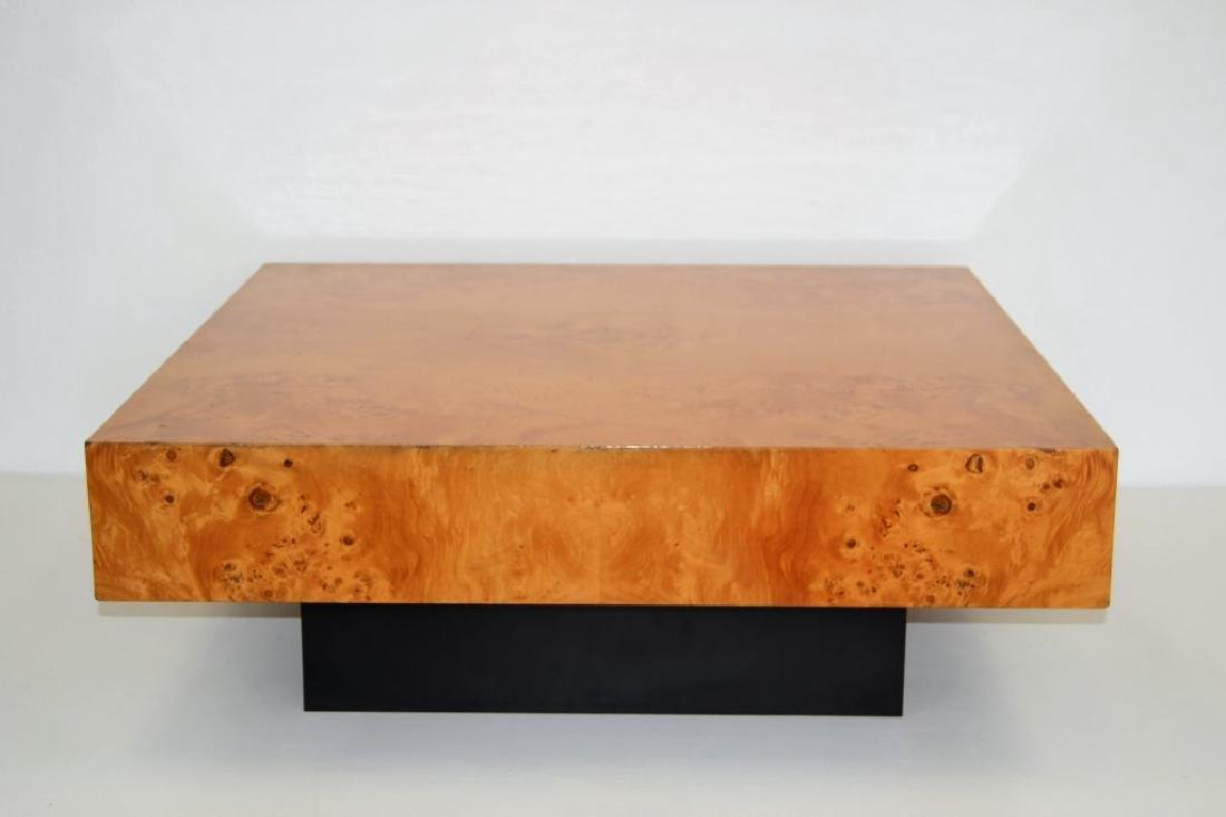Milo Baughman Style Cocktail Table - 2