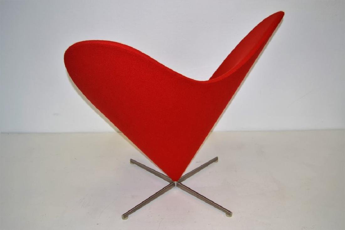 Verner Panton Heart Chair - 2