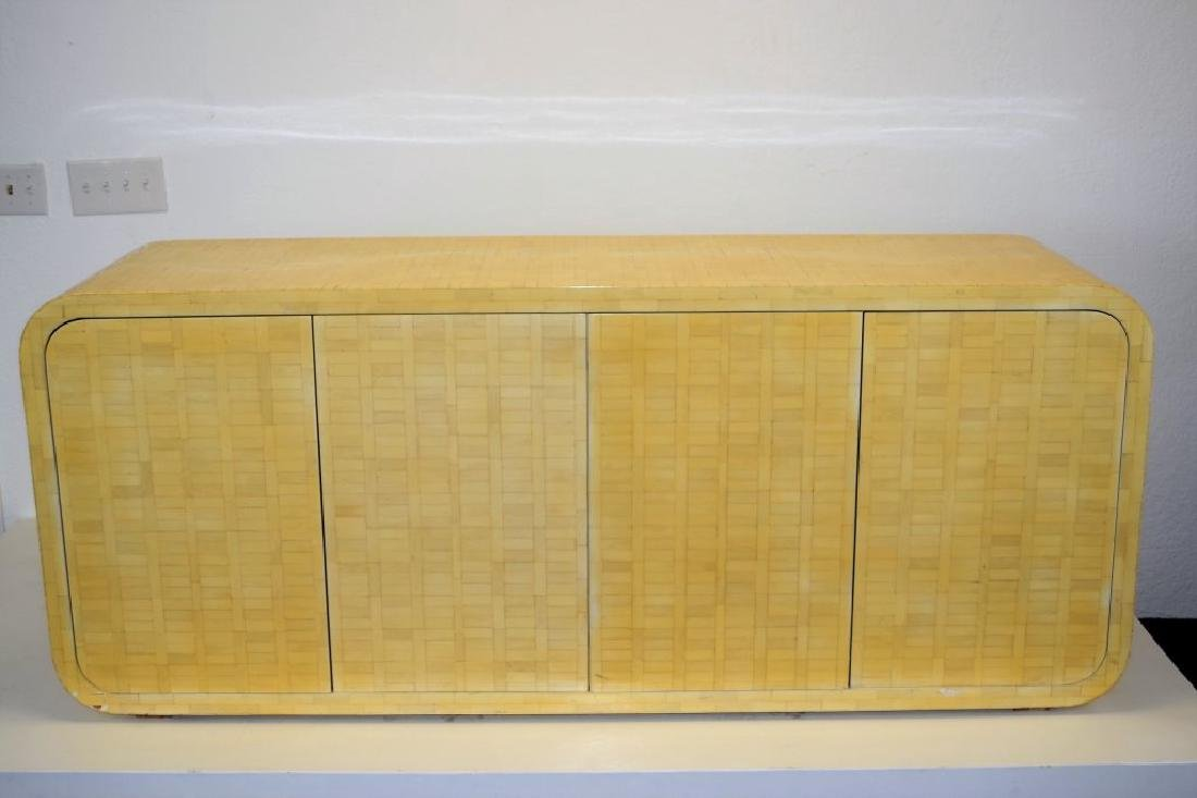 Enrique Garcel Bone Veneer Cabinet