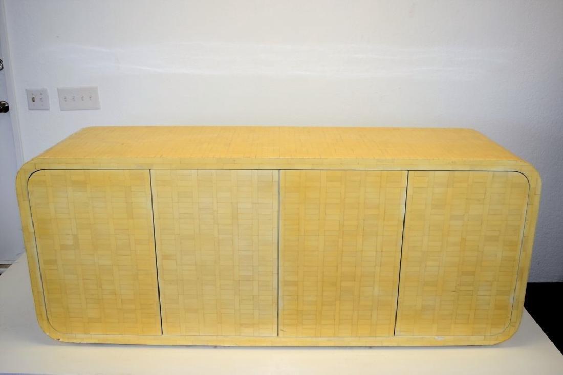 Enrique Garcel Bone Veneer Cabinet - 2