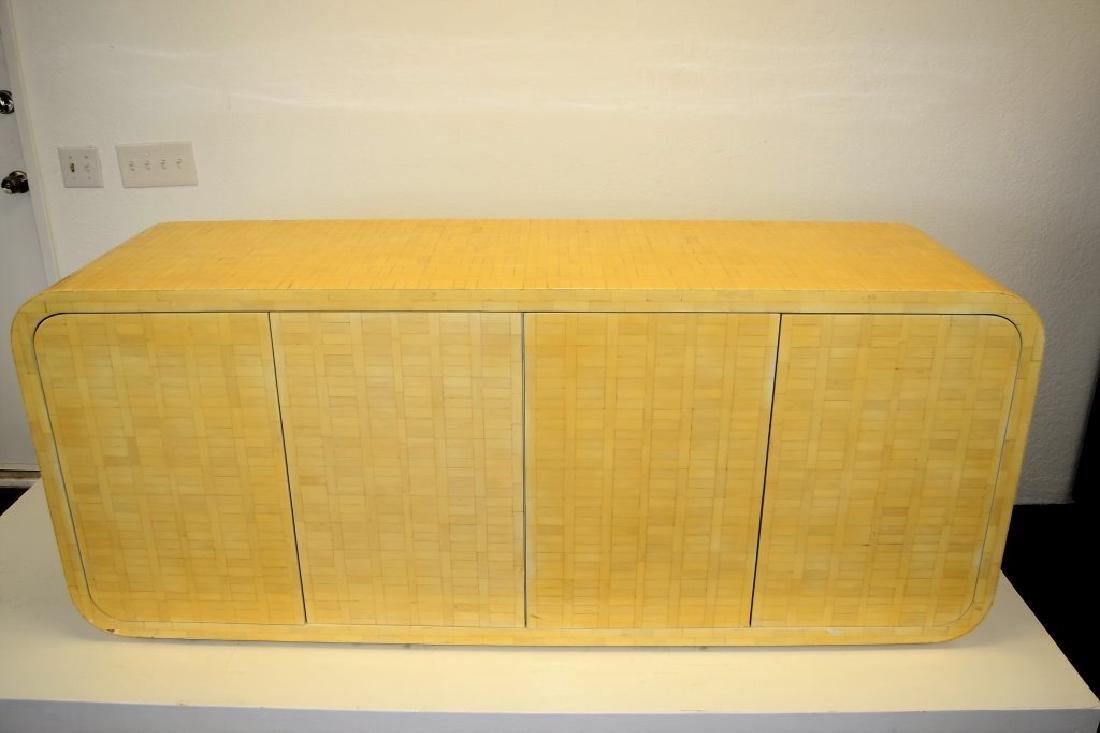 Enrique Garcel Bone Veneer Cabinet - 4