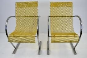 Shiro Kuramata Sing Sing Sing Chairs - Pair
