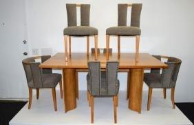 Eliel Saarinen Dining Set - Six Chairs