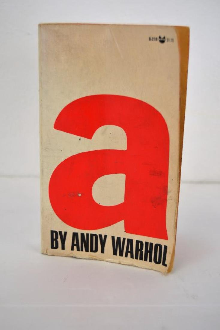 """""""A"""" by Andy Warhol"""