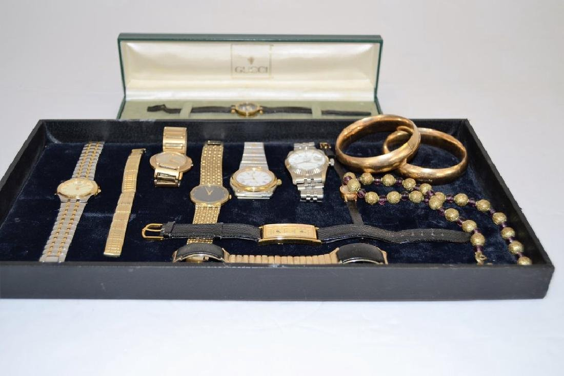 Lot of Vintage Watches and Jewelry