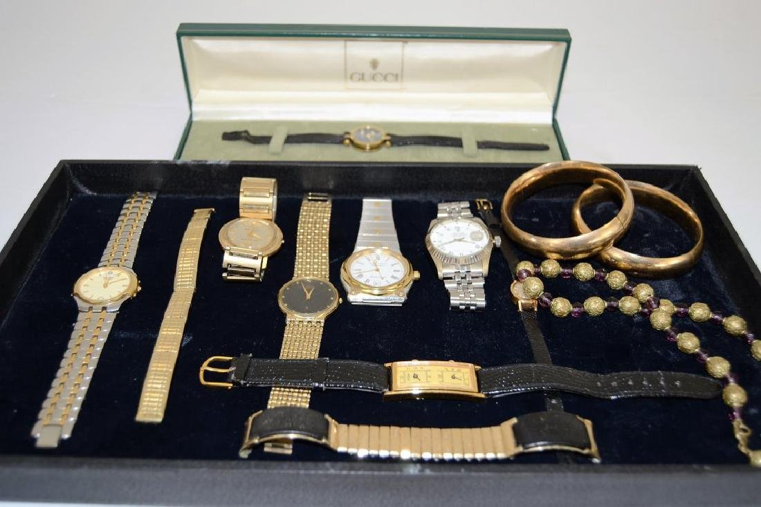 Lot of Vintage Watches and Jewelry - 2