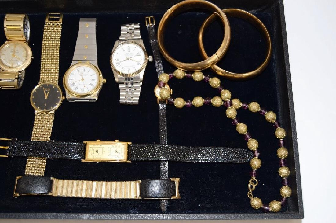 Lot of Vintage Watches and Jewelry - 4