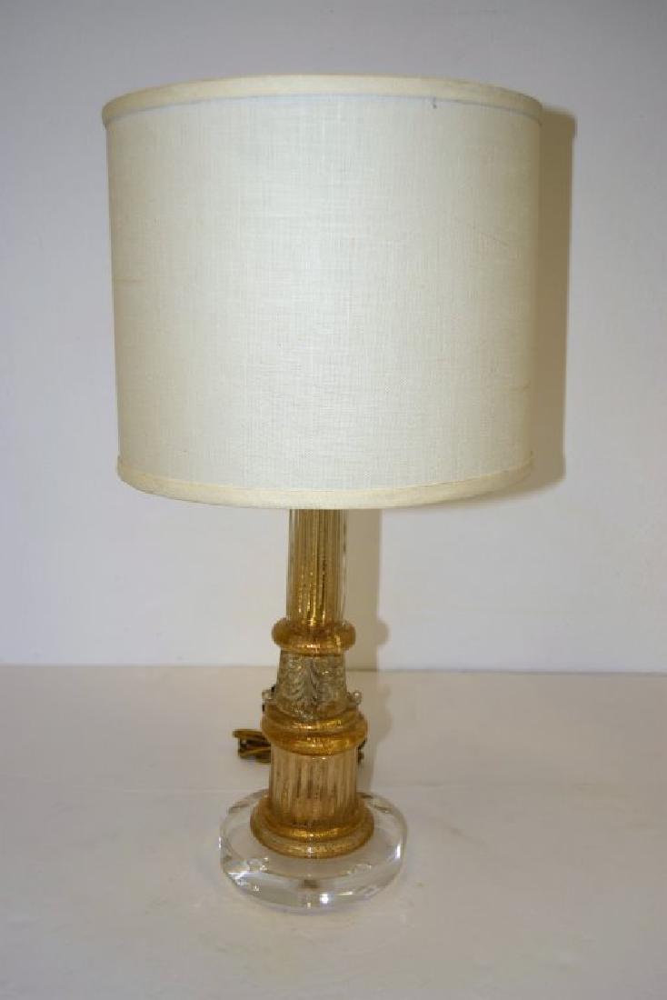 Barovier Column Table Lamp