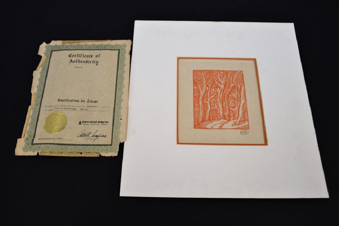 Aristide Maillol Wood Cut with Koa - 3