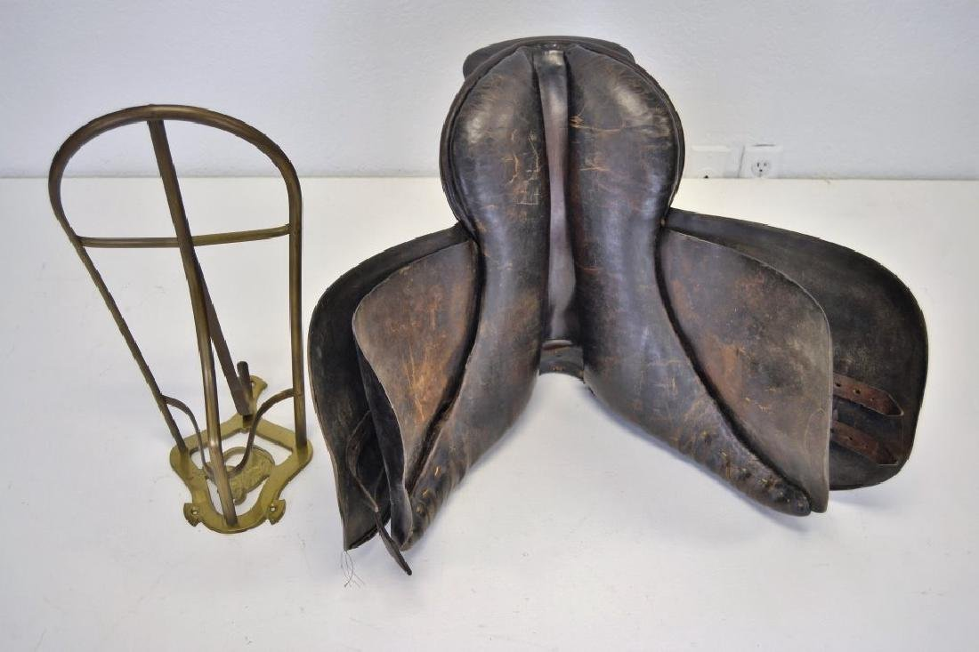 Hermes Saddle with Saddle Stand - 4
