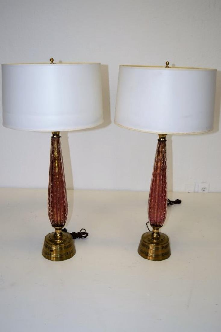 Barovier & Toso Table Lamps - 2