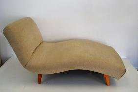"""Adrian Pearsall """"Wave"""" Chaise Lounge"""