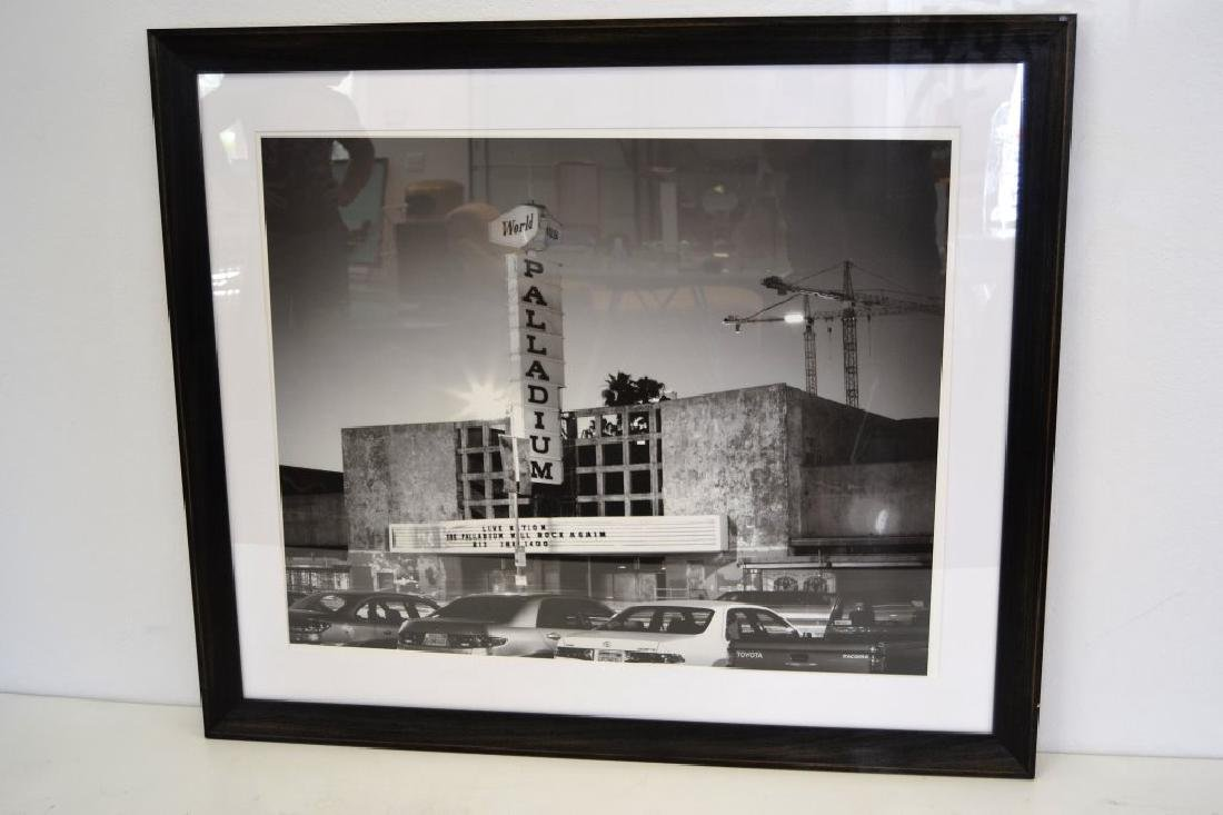 Large Framed Black & White Picture