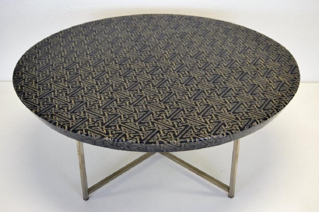 Karl Springer Batik Top Cocktail table - 2