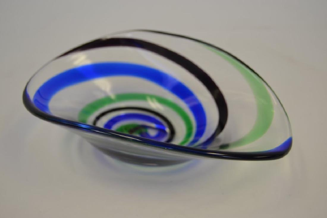 Vicke Lindstrand Bowl with Label