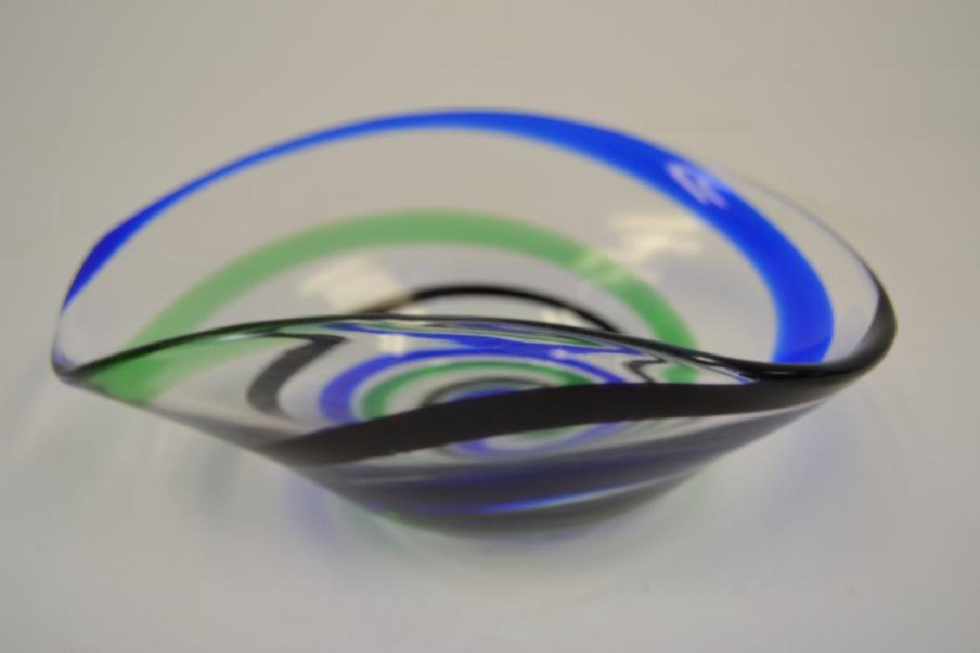 Vicke Lindstrand Bowl with Label - 3