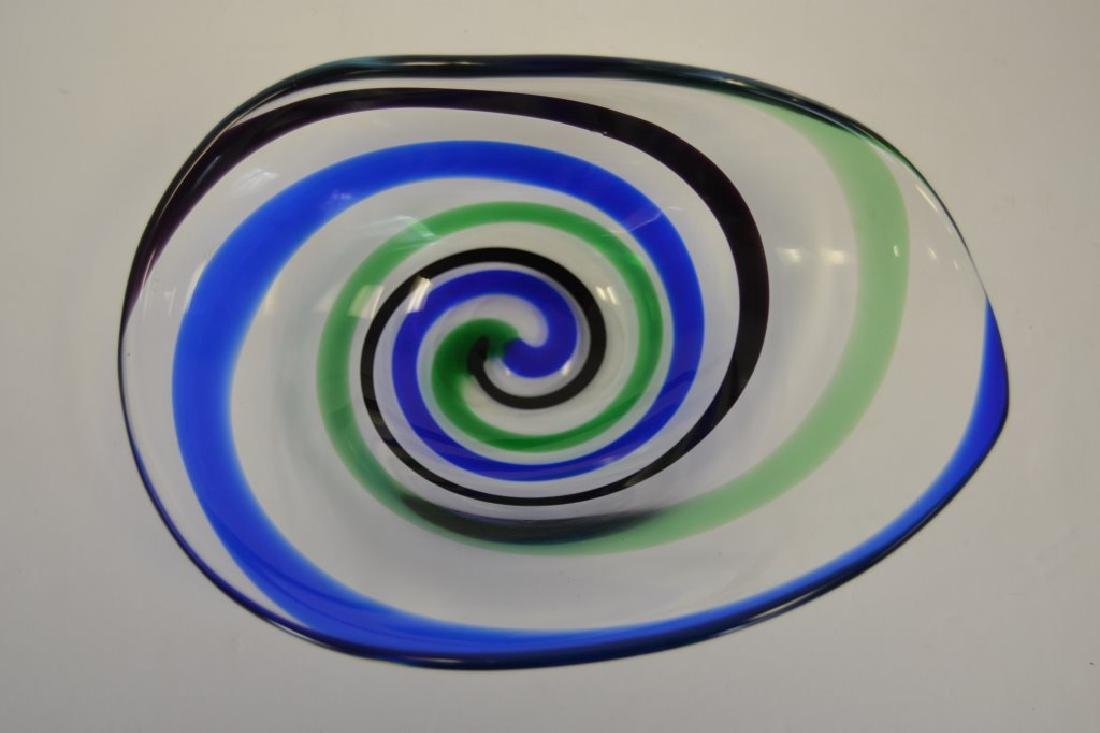 Vicke Lindstrand Bowl with Label - 4