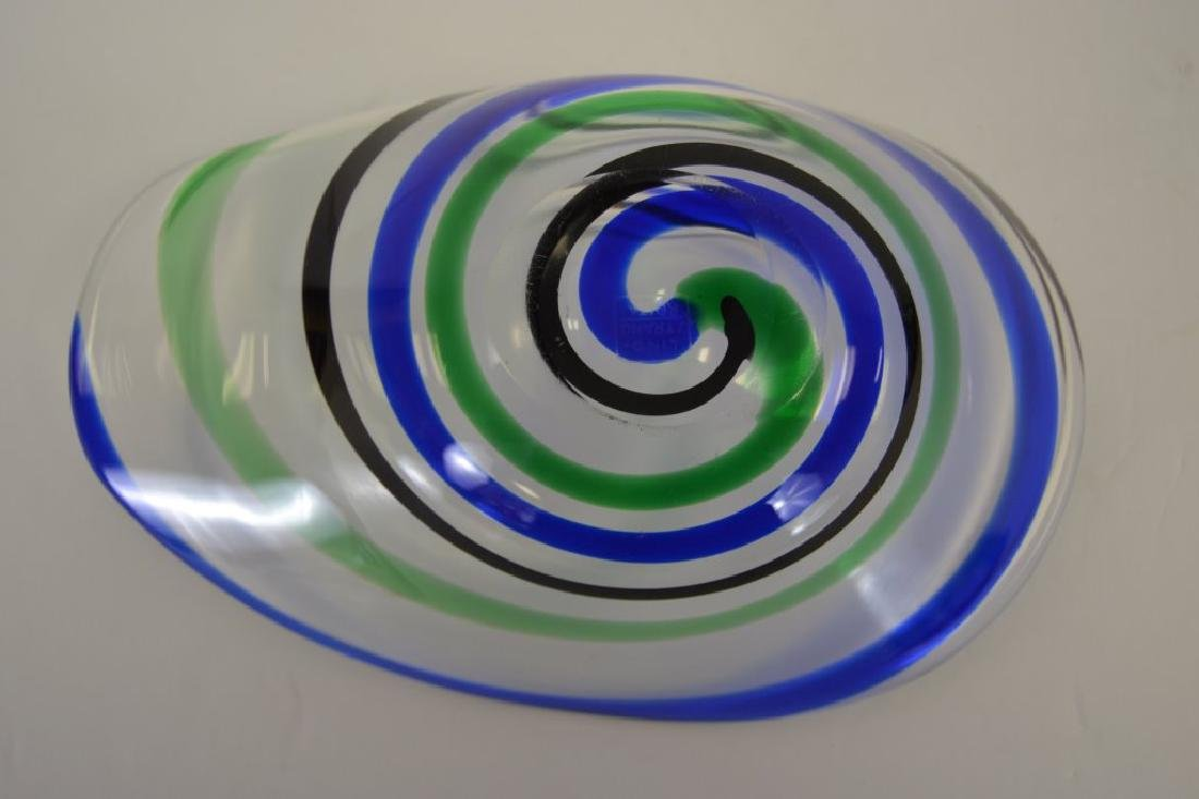 Vicke Lindstrand Bowl with Label - 5