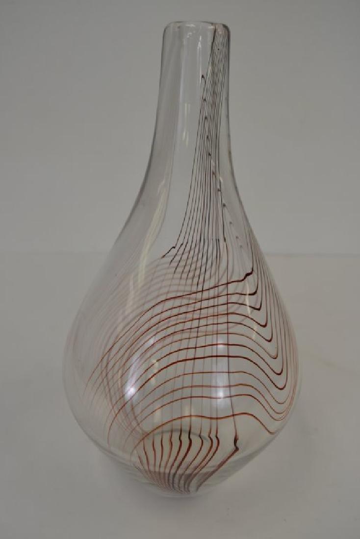 Vicke Lindstrand Vase with Label