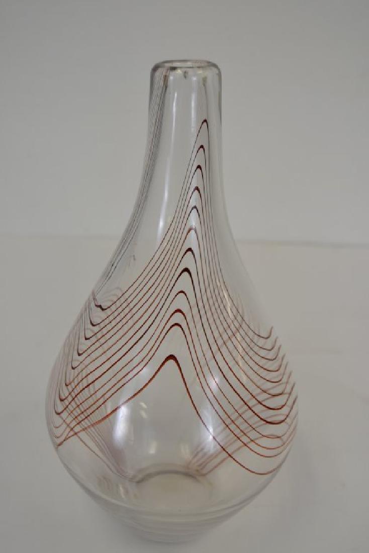 Vicke Lindstrand Vase with Label - 2