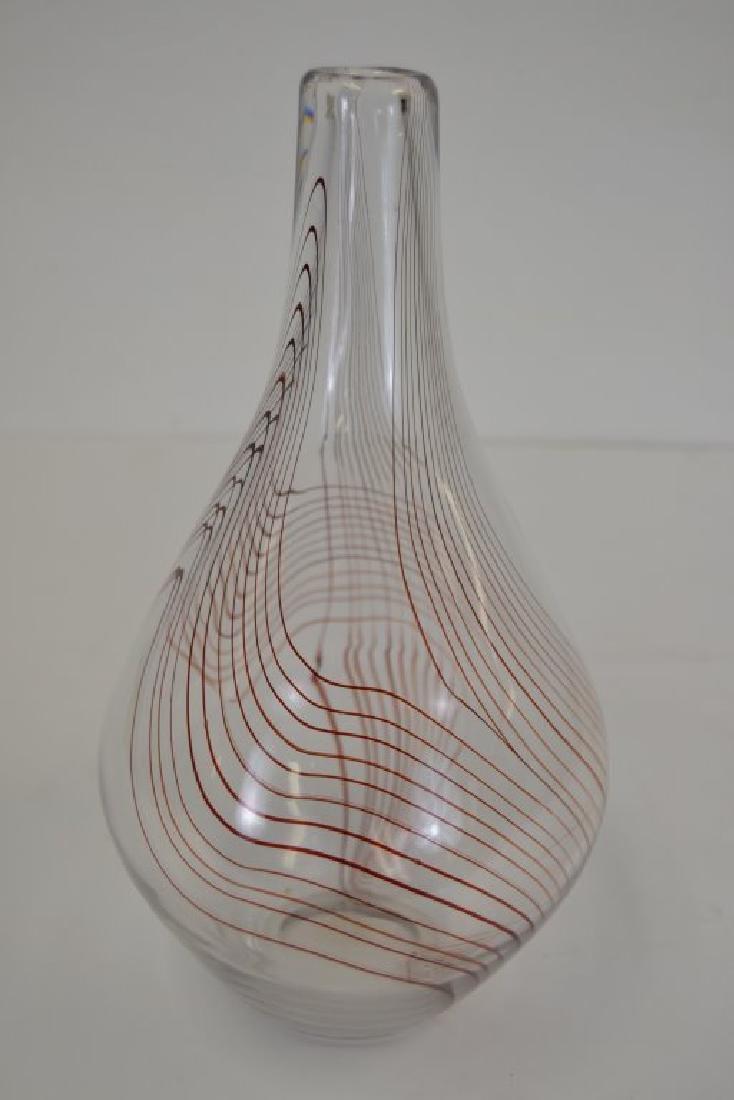 Vicke Lindstrand Vase with Label - 3