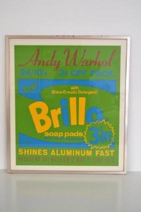 Andy Warhol Brillo Silk Screen