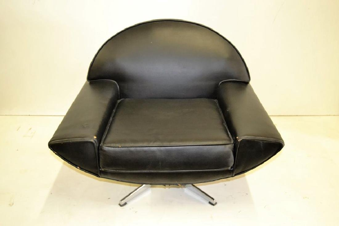 Johannes Anderson Black Leather Chair
