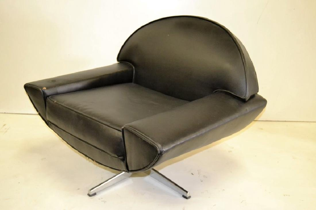 Johannes Anderson Black Leather Chair - 2