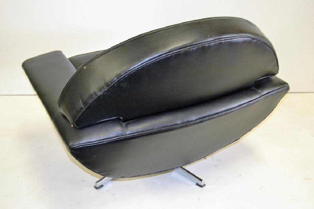 Johannes Anderson Black Leather Chair - 3