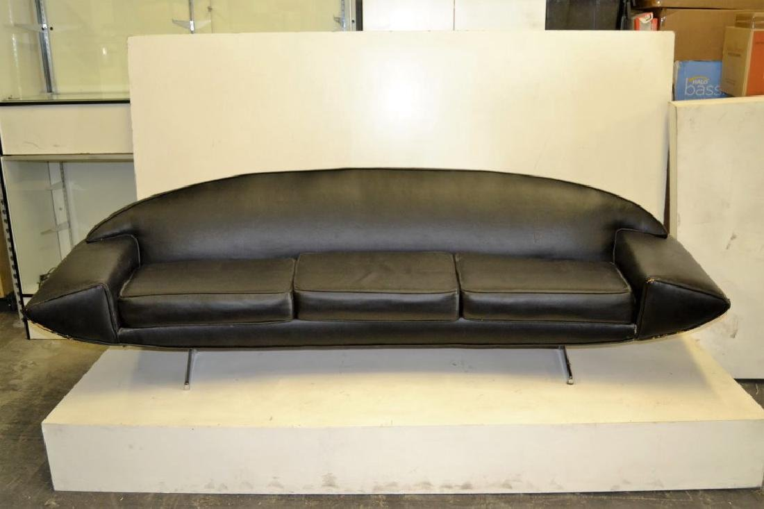 Johannes Anderson Black Leather Sofa - 2