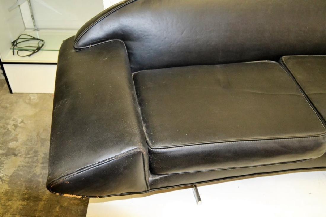 Johannes Anderson Black Leather Sofa - 3