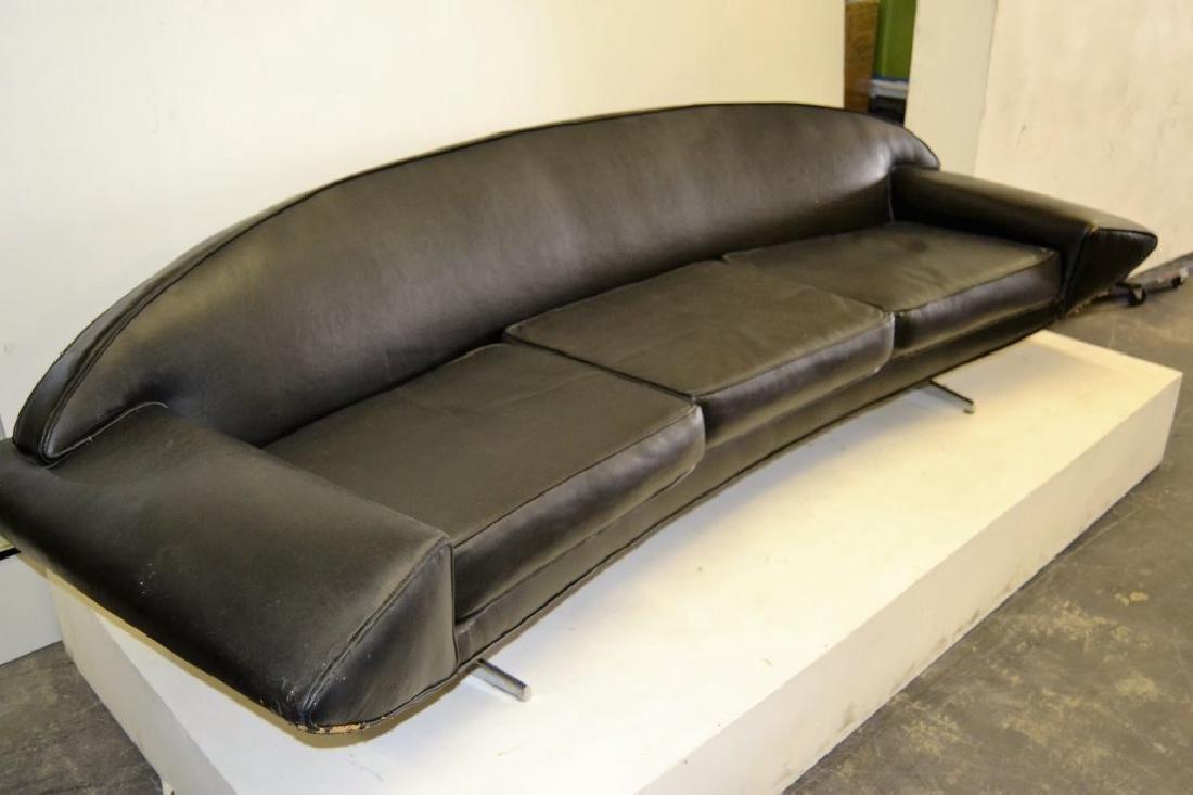 Johannes Anderson Black Leather Sofa - 4