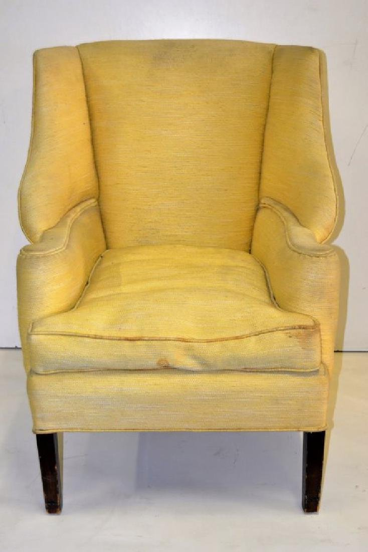 Unusual Wing Chair