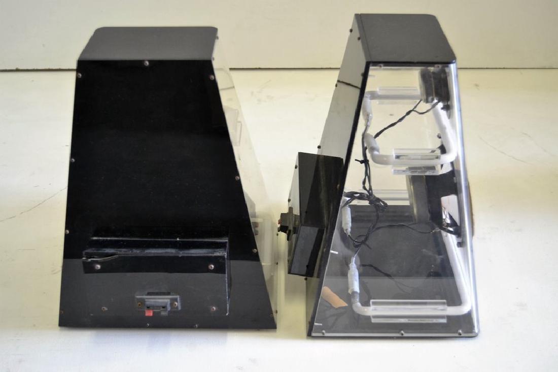 Lucite & Neon Speakers - 3