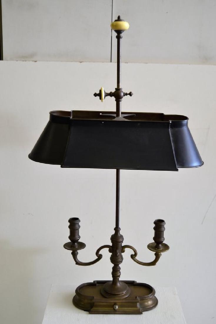 Bronze Bouillotte Lamp