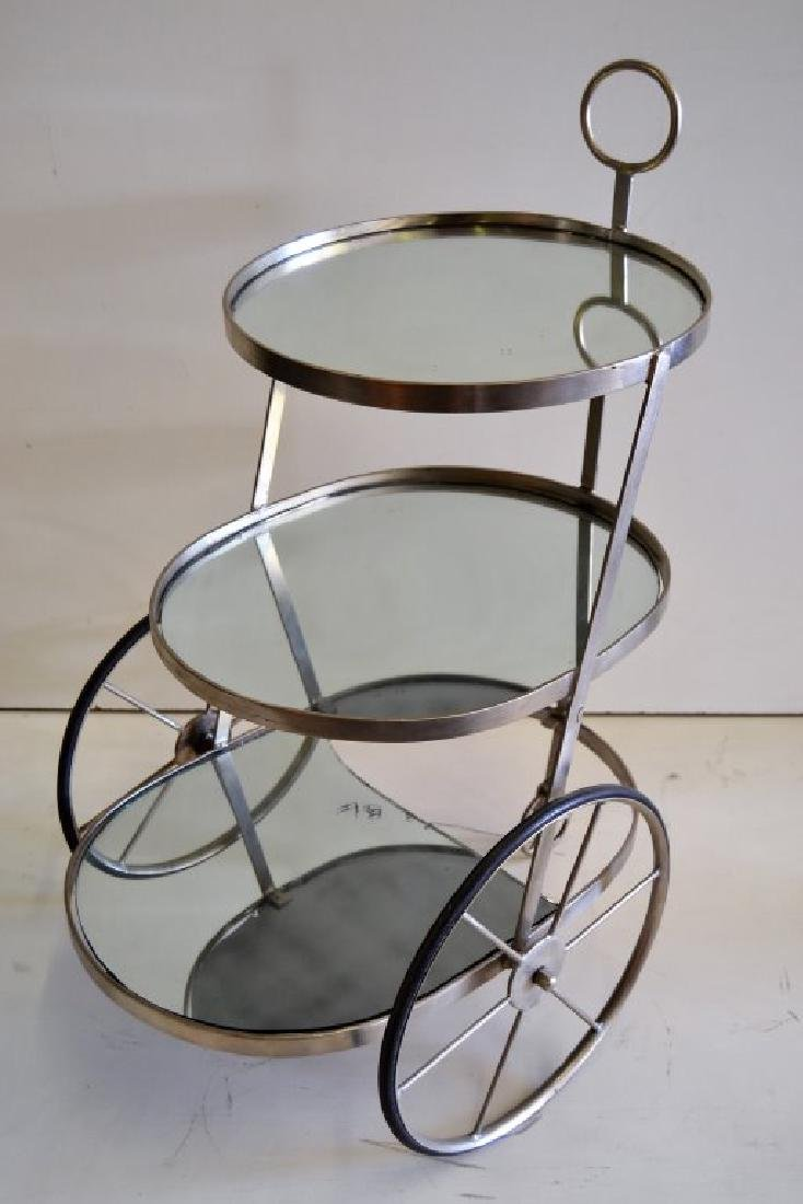 Italian Three Tier Bar Cart