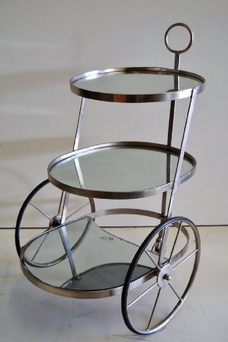 Italian Three Tier Bar Cart - 2