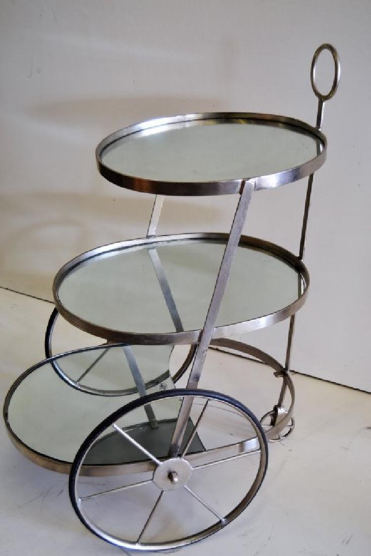 Italian Three Tier Bar Cart - 3