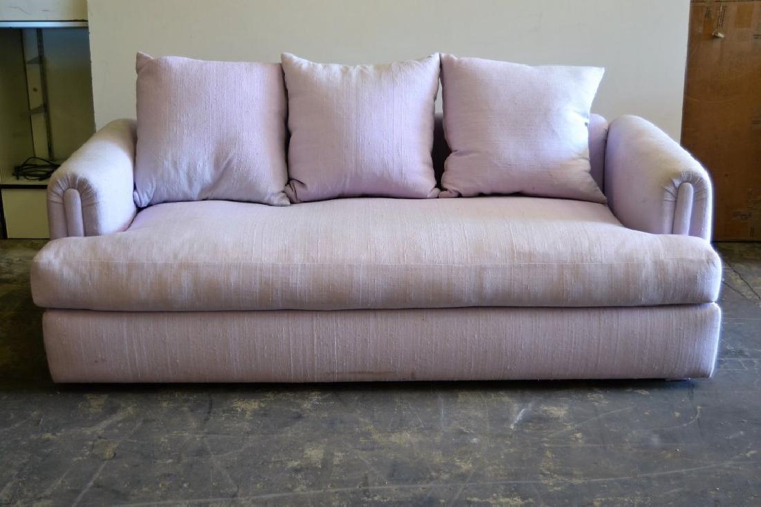 Steve Chase Lavender Sofa - 3