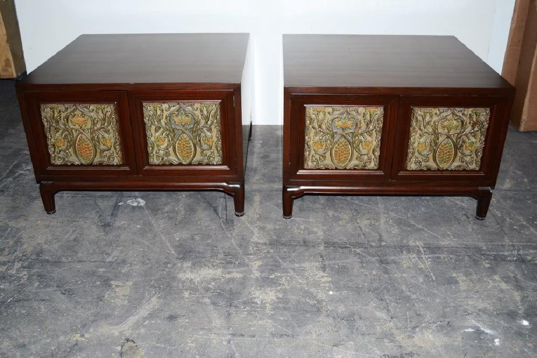 Pair of Monteverdi End Tables with Doors
