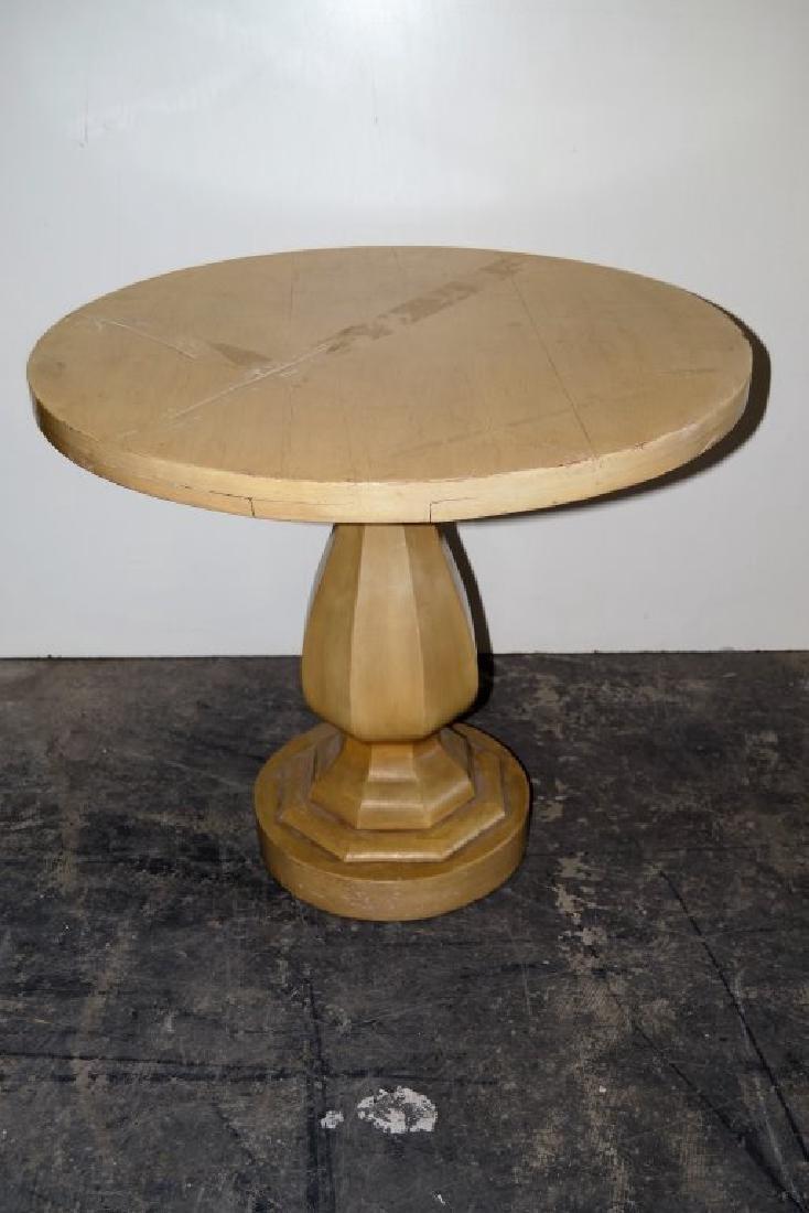 Pair Dunbar Style Pedestal Tables - 2