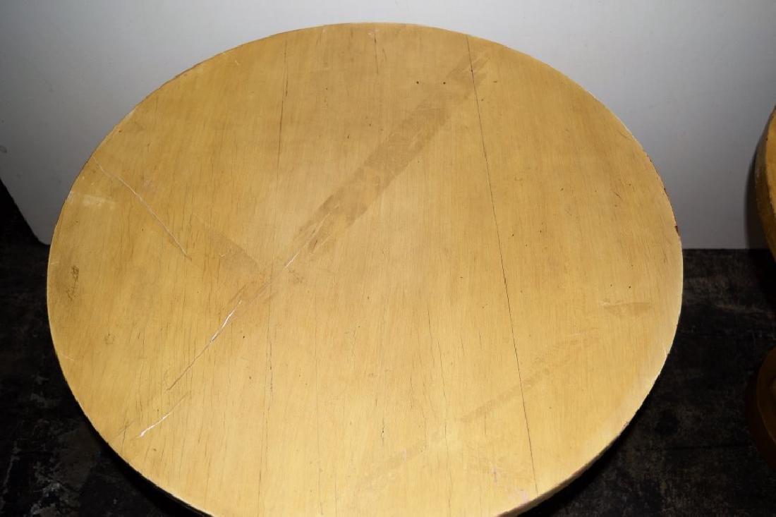 Pair Dunbar Style Pedestal Tables - 4