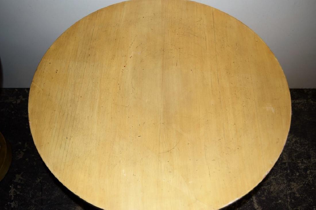 Pair Dunbar Style Pedestal Tables - 5