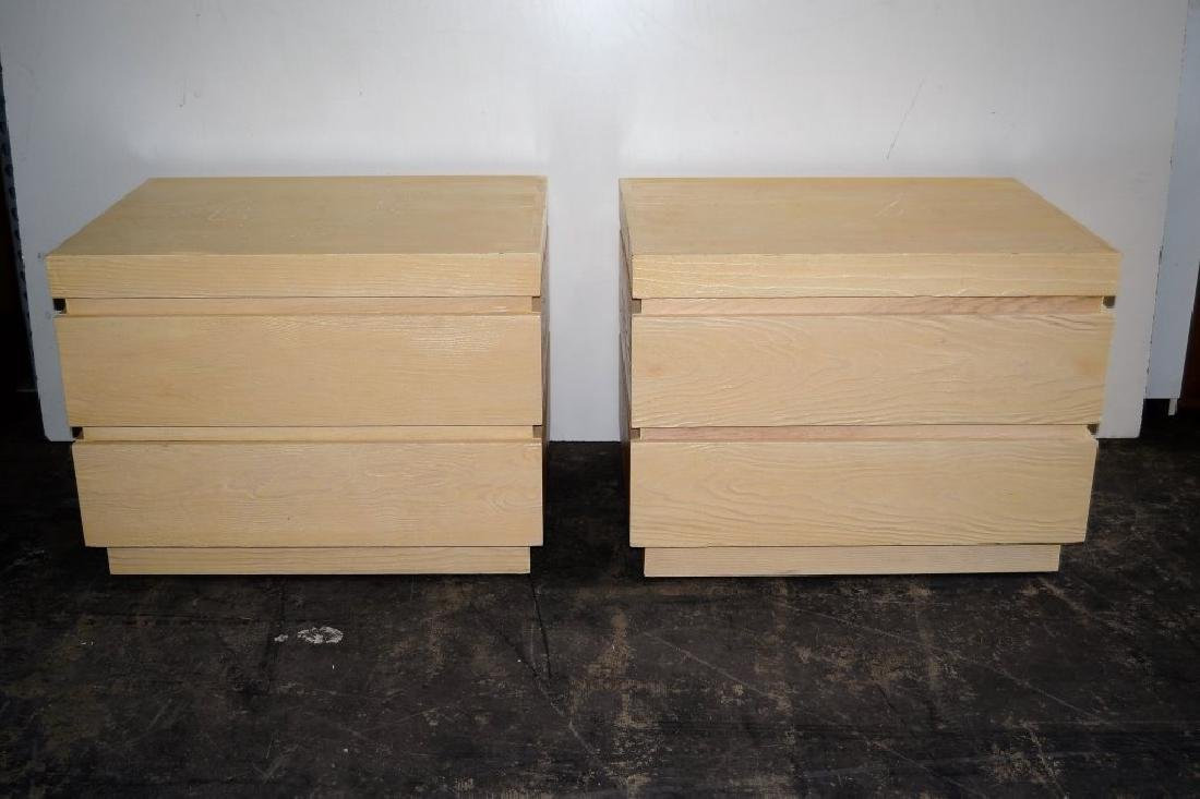 Steve Chase 2 Drawer Night Stands