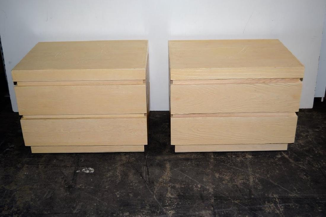 Steve Chase 2 Drawer Night Stands - 2