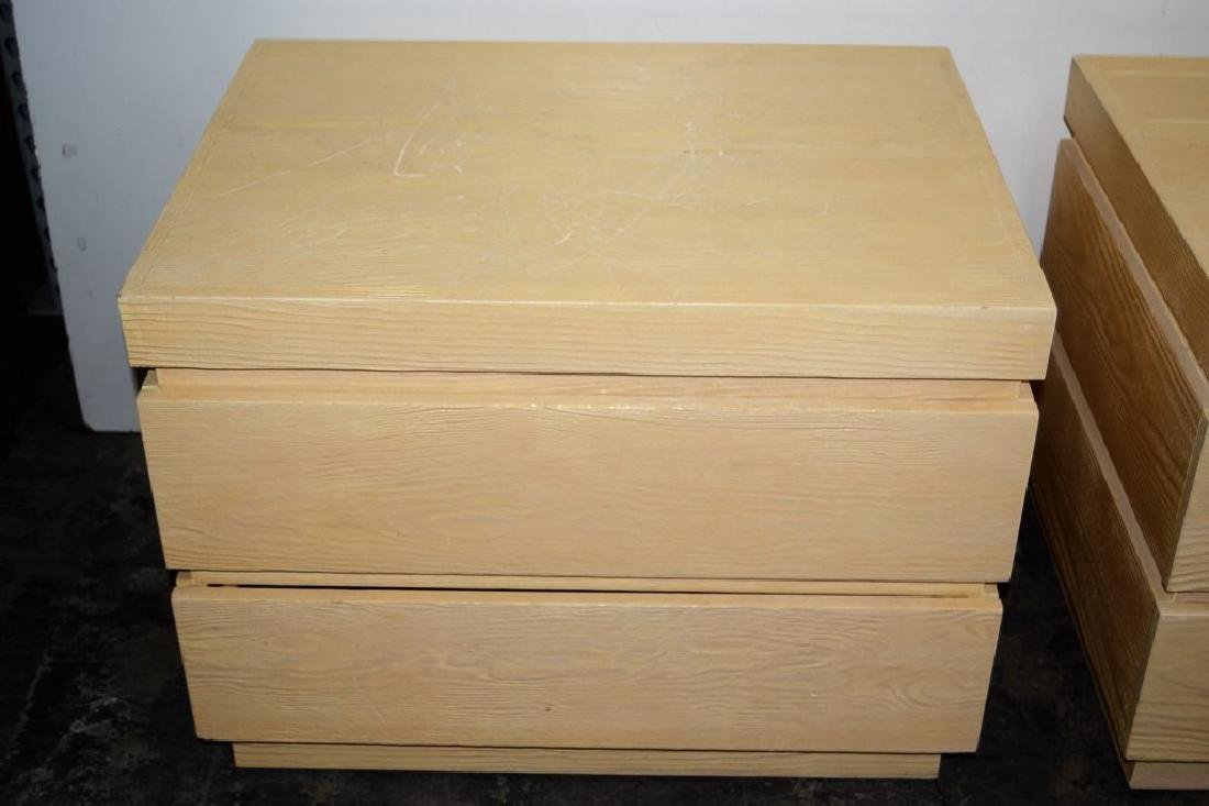 Steve Chase 2 Drawer Night Stands - 4