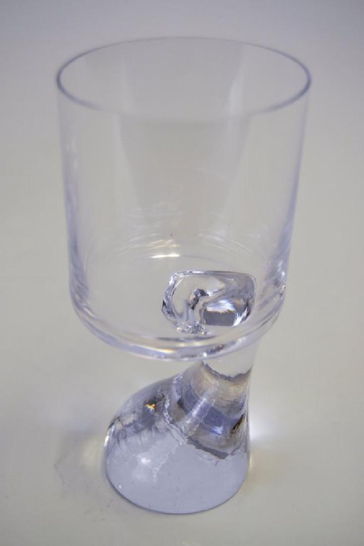 Set of Three Joe Columbo Smoke Glasses - 4