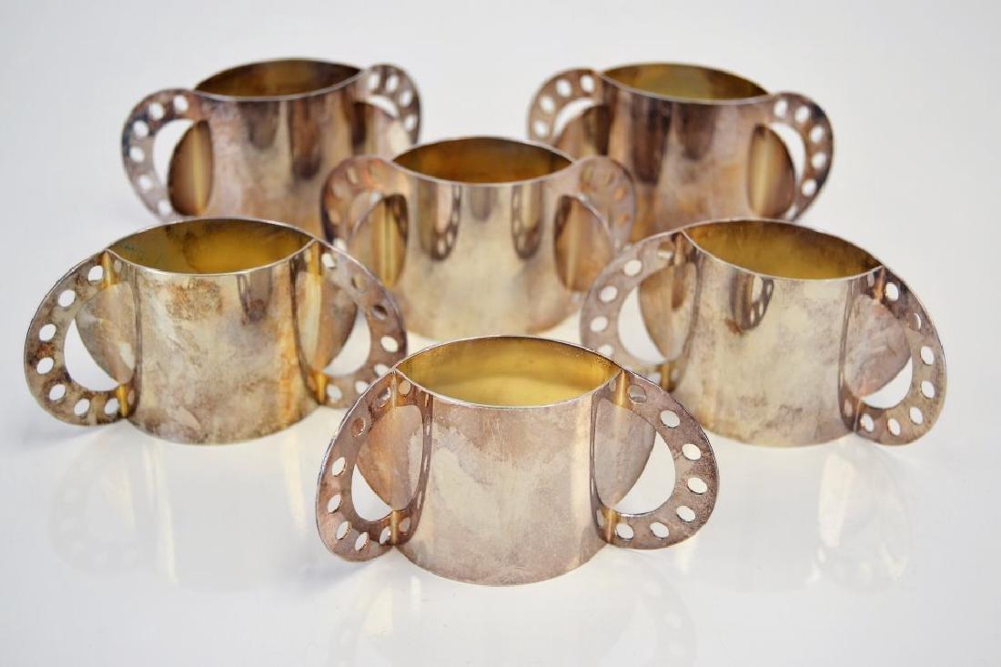 Nathalie Du Pasquier Set of 6 Napkin Rings