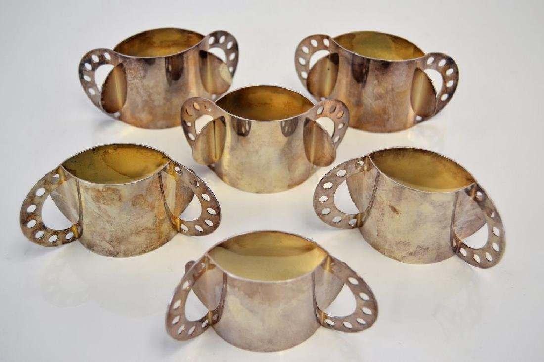 Nathalie Du Pasquier Set of 6 Napkin Rings - 2